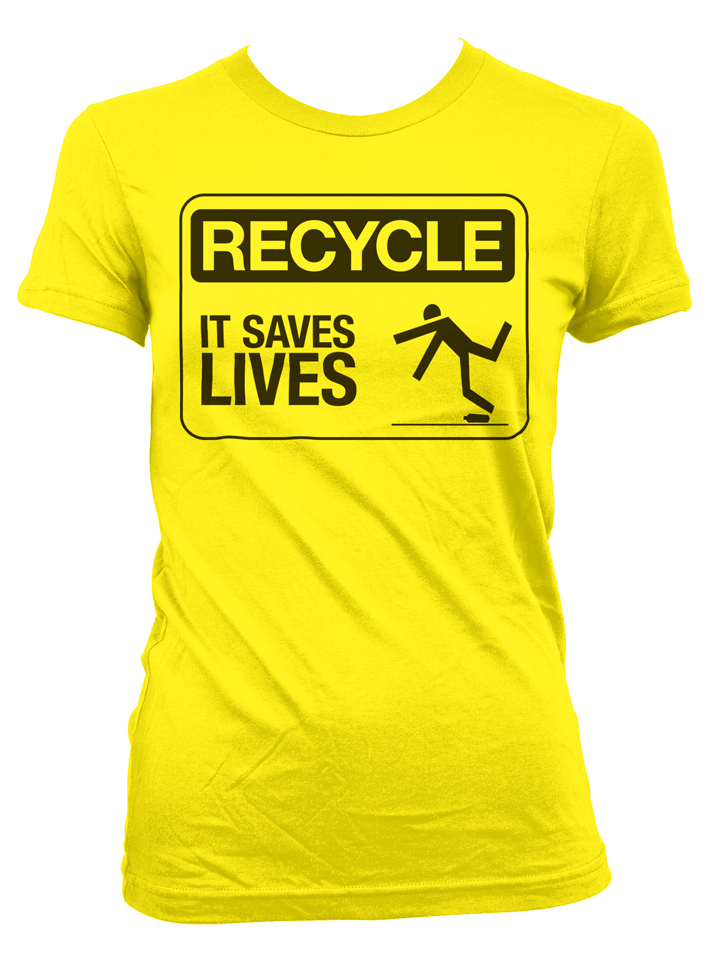 Recycle Shirt Front
